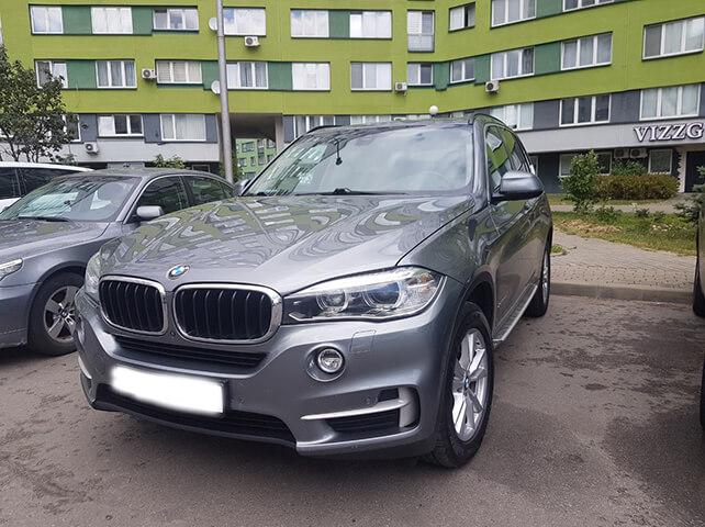 BMW X5 F14