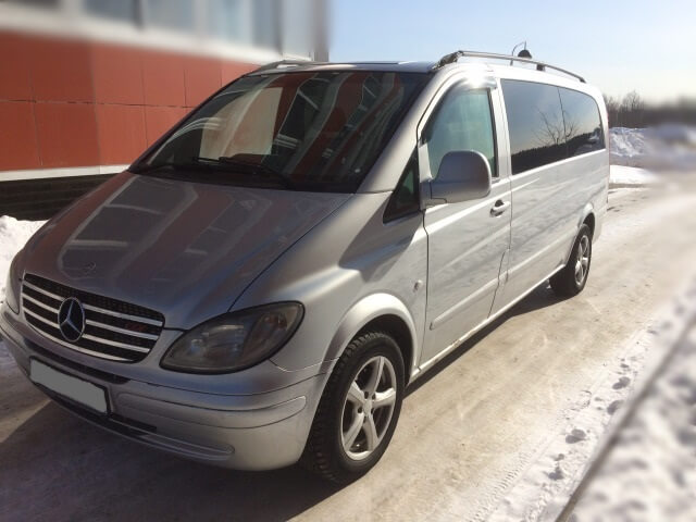 Mercedes Vito Automatic transmission